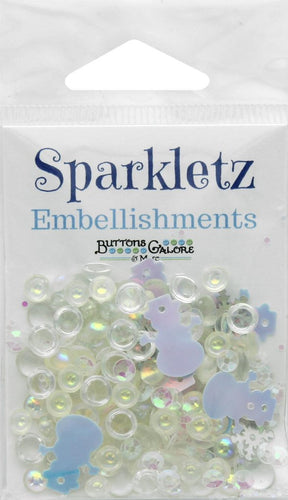 Buttons Galore Embellishments Sparkletz Don't Melt