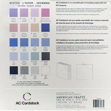 Load image into Gallery viewer, American Crafts Variety Cardstock Pack 12X12 60/Pkg - Winter