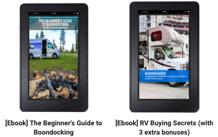 Cyber Monday [Ebook Bundle] RV Buying Secrets (with 3 extra bonuses) & Beginner's Guide to Boondocking