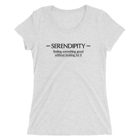 Serendipity Ladies' short sleeve t-shirt