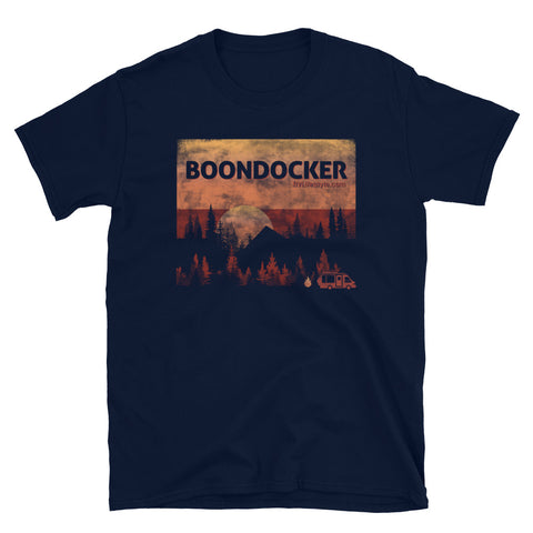 Boondocker Men/Women Short-Sleeve T-Shirt - Black, Navy, Dark Heather