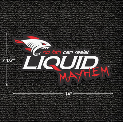 Liquid Mayhem Carpet Decal