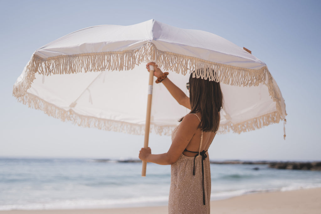 A first of its kind…  Beach Umbrellas that are helping clean up our oceans