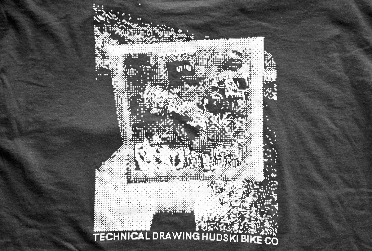 T-Shirt: Technical Drawing Pocket T