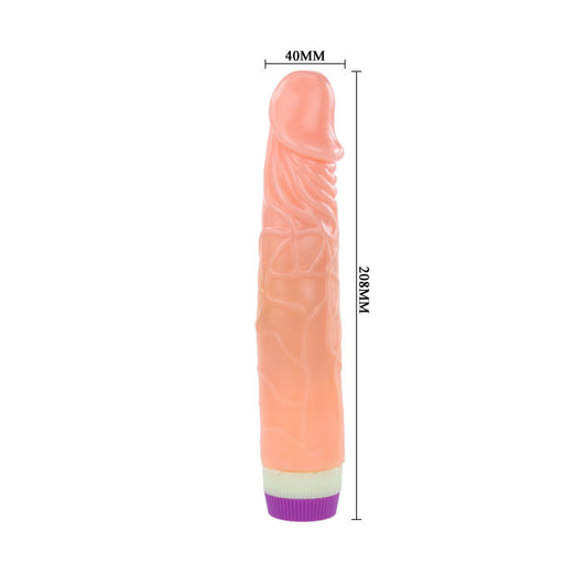 Alpha Male Stud 7 Inches Vibrator Dildo Sex Toy Exclusive on www.masalatoys.com