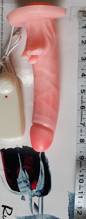 Alpha Male Stud Penis Sleeve with Vibrator, Exclusive on www.masalatoys.com