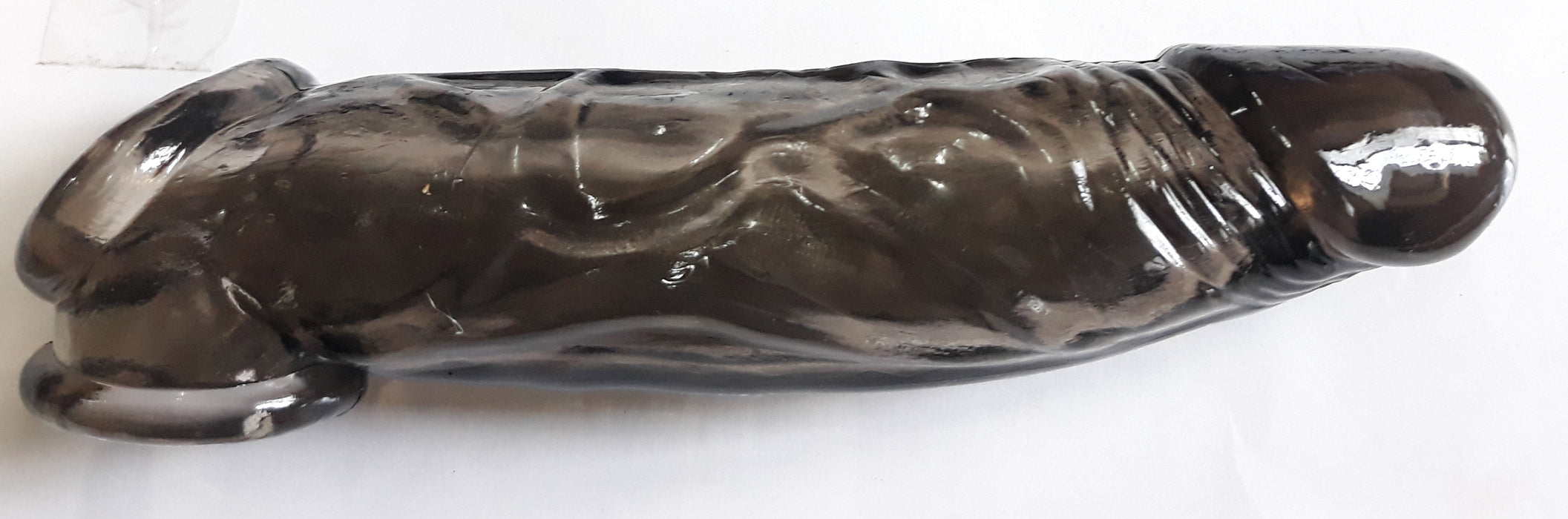 Black Mamba REALISTIC PENIS EXTENSION 7'' FLESH COCK SHEATH & BALL STRETCHER, www.masalatoys.com