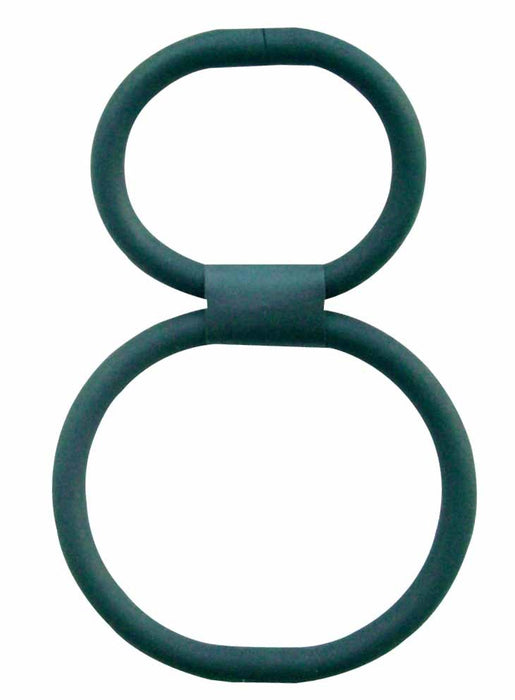 Double Helix - 100 Percent Silicone Cock and Ball Ring, Exclusive on www.masalatoys.com