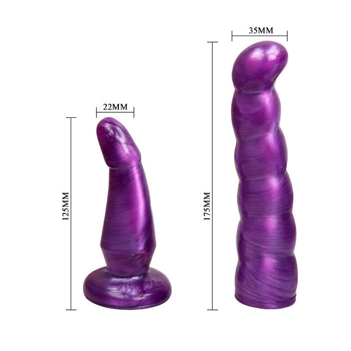 Fabulous Purple Pleasure Dual Penetration Strap-on, Exclusive on www.masalatoys.com