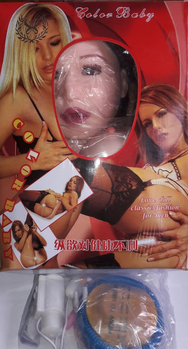 Queen of America -Beautiful Realistic Vibrating Blow up Doll, Exclusive on www.masalatoys.com