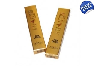 Spanish gold fly teaser sample pack of two