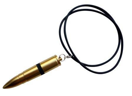 The Discreet Pirates Golden Bullet Neck Chain Vibrator, Exclusive on www.masalatoys.com