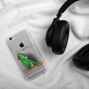 Jurassicorn iPhone Case