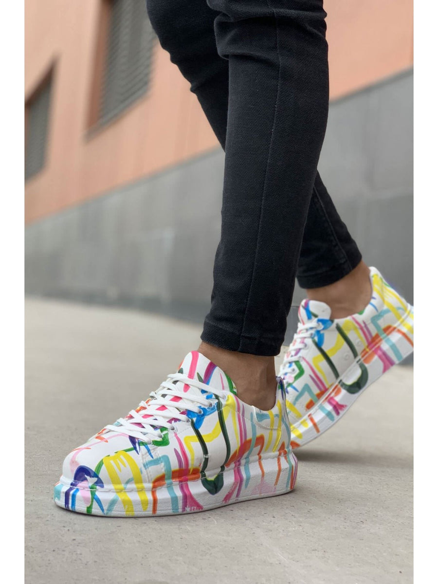 Sneakerjeans Mixed Colour Sneaker CH255