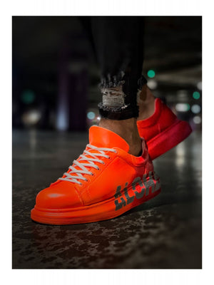 Sneakerjeans Orange ALH Graffiti Sneaker CH254