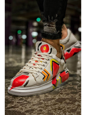 Sneakerjeans Mexico Graffiti Sneaker CH254