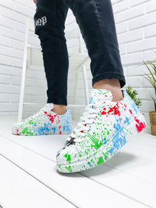 Custom Color Splash V2 Sneaker Custom3 Streetwear Sneaker