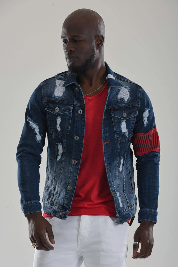 Sneakerjeans Ripped Jeans Jacket DR5637