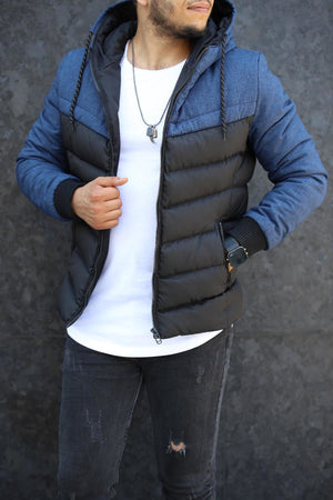 Sneakerjeans Blue Puffer Jacket DM7007