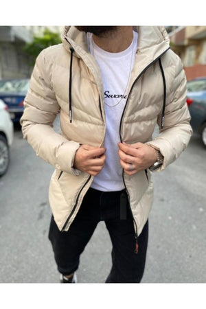 Sneakerjeans Cream Puffer Jacket SW-652