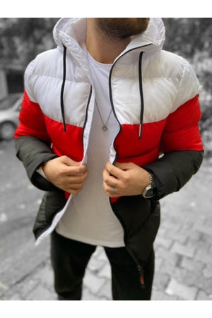 Sneakerjeans White Puffer Jacket SW-650