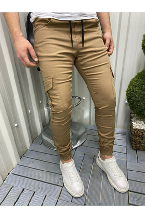 Sneakerjeans Brown Jogger Pant DR5536