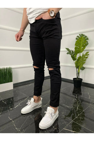 Sneakerjeans Brown Baggy Jogger DR800
