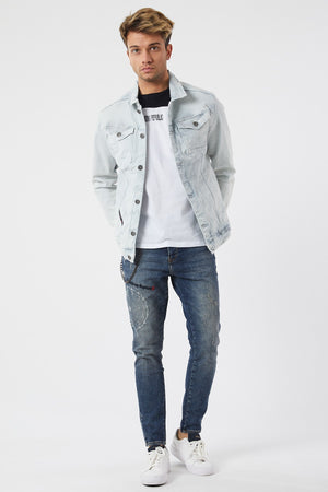 Sneakerjeans Blue Jeans Jacket DR3465