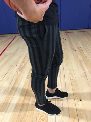 Green Stripe Slim Fit Casual Pant MSP165 Streetwear Pant - Sneakerjeans