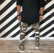 Load image into Gallery viewer, Mixed Colours Camouflage Cargo Jogger Denim R107 Streetwear Denim Jeans