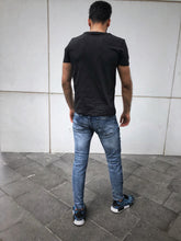 Load image into Gallery viewer, Born Psycho Printed T-Shirt OT15 Streetwear T-Shirts - Sneakerjeans