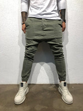 Load image into Gallery viewer, Khaki Baggy Pant B317 Streetwear Baggy Pant
