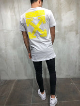 Load image into Gallery viewer, White Printed Oversize T-Shirt A21 Streetwear T-Shirts