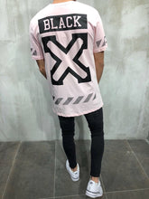 Load image into Gallery viewer, Pink Printed Oversize T-Shirt A23 Streetwear T-Shirts - Sneakerjeans