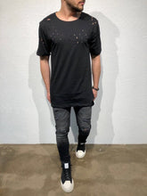 Load image into Gallery viewer, Black Hole Oversized T-Shirt B87 Streetwear T-Shirts - Sneakerjeans