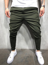 Load image into Gallery viewer, Kahki Side Striped Casual Jogger Pant A114 Streetwear Jogger Pants