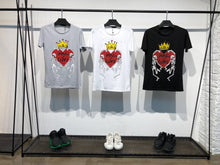 Load image into Gallery viewer, White Printed T-Shirt B153 Streetwear T-Shirts - Sneakerjeans