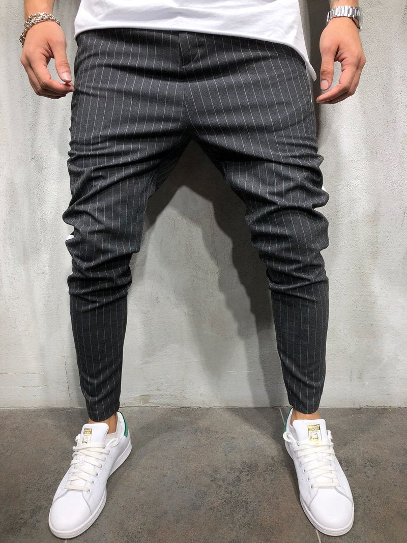 Anthracite Side Striped Casual Jogger Pant 3907 Streetwear Jogger Pants - Sneakerjeans