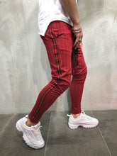 Load image into Gallery viewer, Red Side Striped Jogger Pant A99 Streetwear Jogger Pants - Sneakerjeans