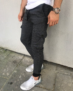 Antracite Cargo Pocket Jogger Pant HB11 Streetwear Jogger Pants