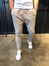 Load image into Gallery viewer, Beige Baggy Jogger Pant B133 Streetwear Jogger Pants