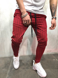 Red Side Striped Jogger Pant A99 Streetwear Jogger Pants
