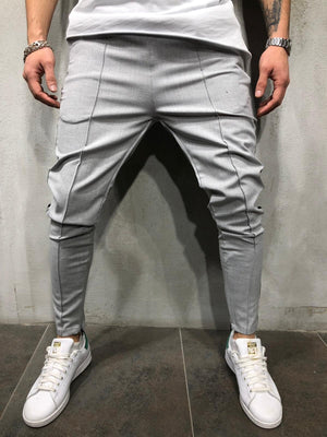 Sneakerjeans Gray Side Striped Jogger Pant A299