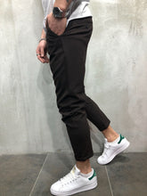 Load image into Gallery viewer, Brown Casual Jogger Pant A73 Streetwear Jogger Pants - Sneakerjeans