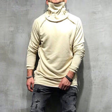 Load image into Gallery viewer, Beige Turtleneck Sweater SJ249 Streetwear Sweaters