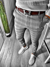 Load image into Gallery viewer, Gray Casual Jogger Pant S161 Streetwear Casual Jogger Pants