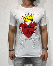 Load image into Gallery viewer, White Printed T-Shirt B153 Streetwear T-Shirts