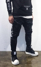 Load image into Gallery viewer, Black Jogger Pant SJ248 Streetwear Jogger Pants - Sneakerjeans