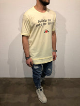 Load image into Gallery viewer, Yellow Printed T-Shirt B50 Streetwear T-Shirts