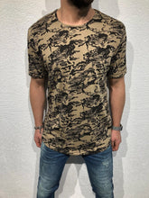 Load image into Gallery viewer, Beige Oversized T-Shirt B56 Streetwear T-Shirts